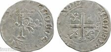 Charles VIII, dizain karolus, Troyes ou Rouen ?, RARE - 64