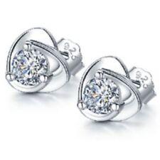 Cute Pearl Earrings Round 6mm 925 Sterling Silver Stud Studs Women Gift Fashion