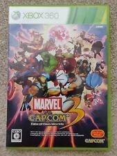 Marvel vs Capcom 3 destino de dos mundos japonés Xbox 360