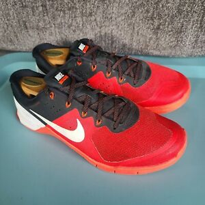 Nike Men's Metcon 2 'University Red' Sneakers Size 11 Lace Up Training Shoes
