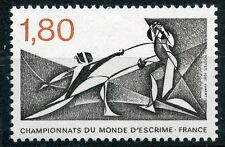 STAMP / TIMBRE FRANCE NEUF N° 2147 ** SPORT ESCRIME