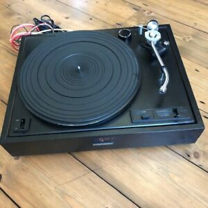 PIONEER PL-12D Vintage Turntable - Spares or Repairs - No Cover or Headshell