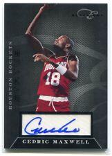 2010-11 Elite Black Box Signatures 135 Cedric Maxwell Auto 95/149