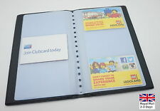 More details for business name card book booklet wallet holder 180,240,300 pouch organiser folder