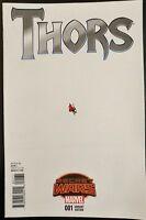 THORS #1 Secret Wars (Ant Sized variant) (2015 MARVEL Comics) ~ VF/NM Book