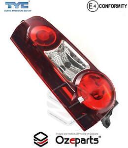 LH LHS Left Tail Light Lamp For Citroen Berlingo Gen 4 2012~2018 Tinted Red