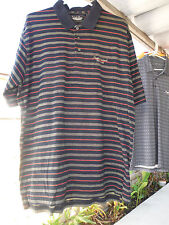 Mens Large Shirt_ANGELES NATIONAL GOLF CLUB_Straight Down_Black/Green/Red_Cotton