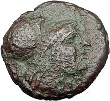 Antigonos II Gonatas 274BC Macedonia Ancient Greek Coin ATHENA PAN TROPHY i63214
