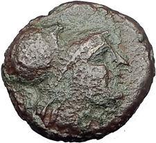 Antigonos II Gonatas 274BC Macedonia Ancient Greek Coin ATHENA PAN TROPHY i63214