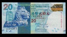 Hong Kong  20 DOLLARS  2010 THE HONG KONG BANKING    PICK # 212a   UNC.