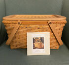 Longaberger 2000 Founder's Market Basket - w/ Original Box