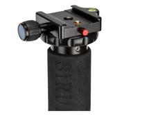 SIRUI MP 20 Rilascio Rapido Pinza Base-Nero compatibile con tutte le teste treppiede