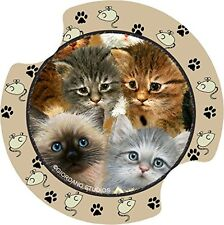Thirstystone Kittens Car Cup Holder Coaster, 2-Pack, New, Free Shipping