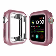 For Apple Watch Series 4 Case iPhone Watch Colour Case Cover Protector For 44 mm