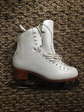 Women Jackson Synchro Figure Skating Boots and Blades - Size 9.5B