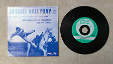 "CDS / JOHNNY HALLYDAY BOF ""D'OÙ VIENS-TU JOHNNY POUR MOI LA VIE VA COMMENCER"""