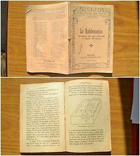 LIBRO LA RABDOMANZIA FIRENZE ADRIANO SALANI EDITORE N. 59 DEL 1929 SUBALPINA