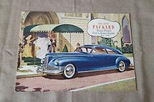 1946 1947 Packard Custom Clipper original Prestige car auto brochure catalog