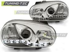 Fanali per VW Golf 4 09.97-09.03 DAYLIGHT CROMO