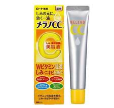 Rohto Melano CC Anti-Spot Whitening Serum With Vitamins C/E 20mL Free Shipping