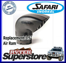 "GENUINE SAFARI REPLACEMENT 3.5"" 85MM SNORKEL AIR RAM NEW DESIGN 000-135-600 HEAD"