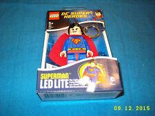 LEGO DC Super Heroes Superman LED Key Light Key Chain by Santoki NEW & SEALED