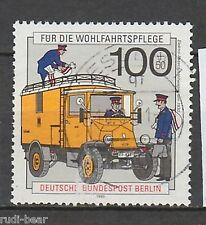 Berlin Nr.  878  gest.  Elektro Paket Zustellwagen um 1930    -11