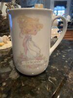 """Precious Moments Personalized Coffee Tea Cup Mug """"Deborah"""" 1989 Enesco Butcher"""