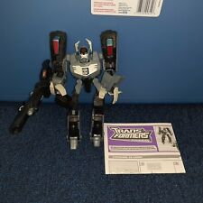 Transformers Animated Shockwave complete w/instructions