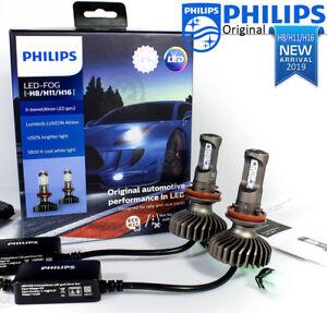 PHILIPS LED H8 H11 H16 Car Head light Bulbs X-treme Ultinon LED Gen2 up to 250%