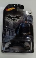 HOT WHEELS - Batman Dark Knight The Bat Die Cast Vehicle Mattel 2013 Long Card