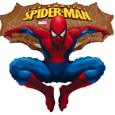 Spiderman  gold Luftballons xxl Folienballon Geburtstag Helium Party Deko