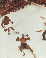 SONNY LISTON KO's FLOYD PATTERSON 8X10 PHOTO BOXING PICTURE