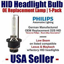 OE HID Headlight Low Beam GENUINE German PHILIPS 1pk Select Lexus & Maybach D2S