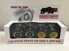 GMP 1:18 Scale Trans Am Tire & Rim Kit 9021; New Georgia Marketing Promotions
