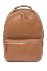 Shinola Signature Small Runwell Leather BackpackTAN NWT $1090