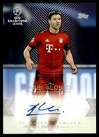 2015-16 Topps UEFA Champions League Showcase Autographs #CLAXA Xabi Alonso