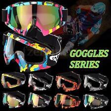 Transparent&Colored lens Moto Gafas Motocross Off-Road Dirt Bicicleta Goggles