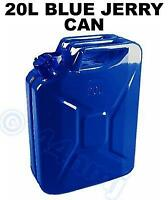 20lt Litre Metal Jerry Can New Various Colours FREEPOST