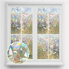 Stained Glass Window Film Static Cling Window Film Privacy for Office Rabbitgoo
