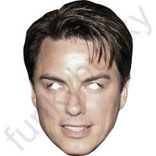 John Barrowman American Celebrity Actor Card Mask - All Our Masks Are Pre-Cut!