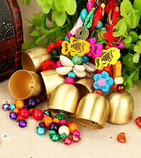 Ethnic Colorful Charm Copper Bell Wind Chime Home Outdoor Yard Garden Decoration