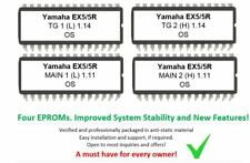 Yamaha EX5 and EX5R - Version 1.11 [MAIN] and 1.14 [TG] upgrade Firmware update