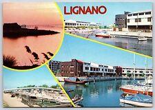 Lignano Sabbiadoro, Italy Punta Faro Continental Postcard New