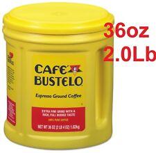 Café Bustelo Espresso 36oz Ground Coffe GOOD PRICE !!!  coffe cafe