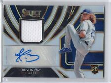 Dustin May 2020 Panini Select Holo Rookie Jersey Autograph 92/99 Dodgers
