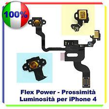 FLAT TASTO POWER ACCENSIONE PER IPHONE 4 SENSORE PROSSIMITA' FLEX OFF ON