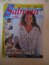 Handarbeitsheft, Strickheft Sabrina  Nr   7 1994