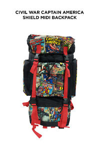 Marvel Retro Comic Red Camping Back Pack