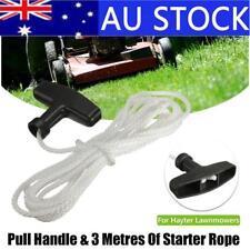 Pull Starter Start Handle & 3m Rope Cord Line for Lawnmowers Mower Petrol Engine